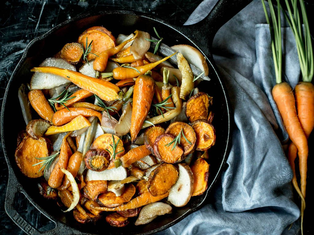 Seed to Table Roasted Vegetables