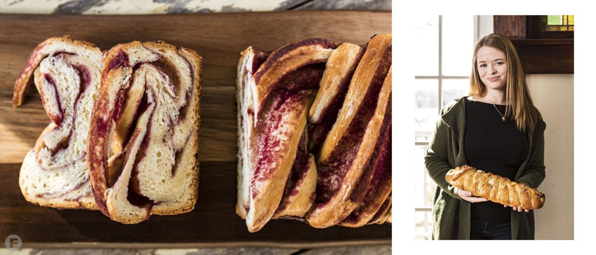Bread of the Month Raspberry Brioche Babka