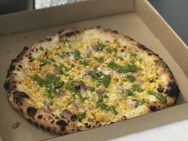Pie Hard Pizza Street Corn Pizza