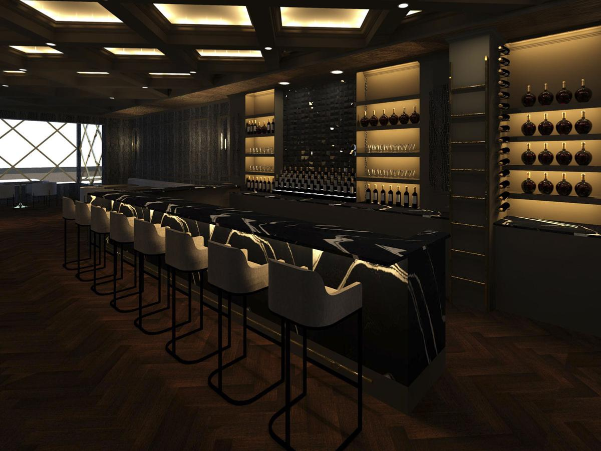 EXO Lounge bar Rendering