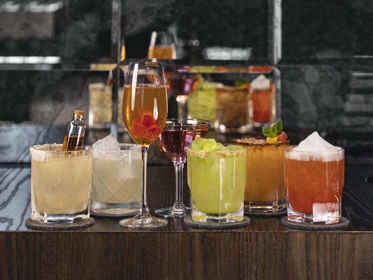 The Monarch Cocktail Bar & Lounge Margaritas