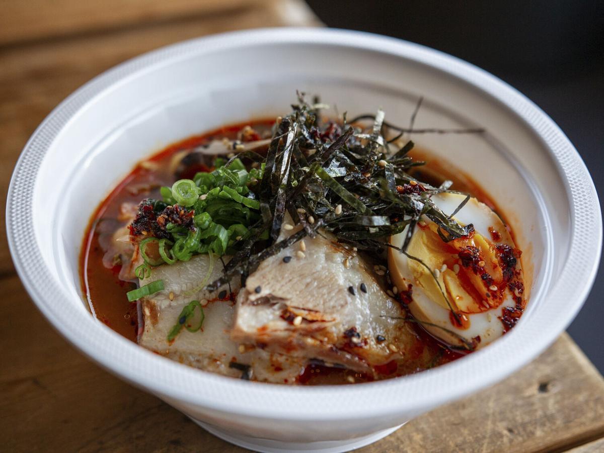 Sura Noodle Bar Kimchi Shin Ramyun