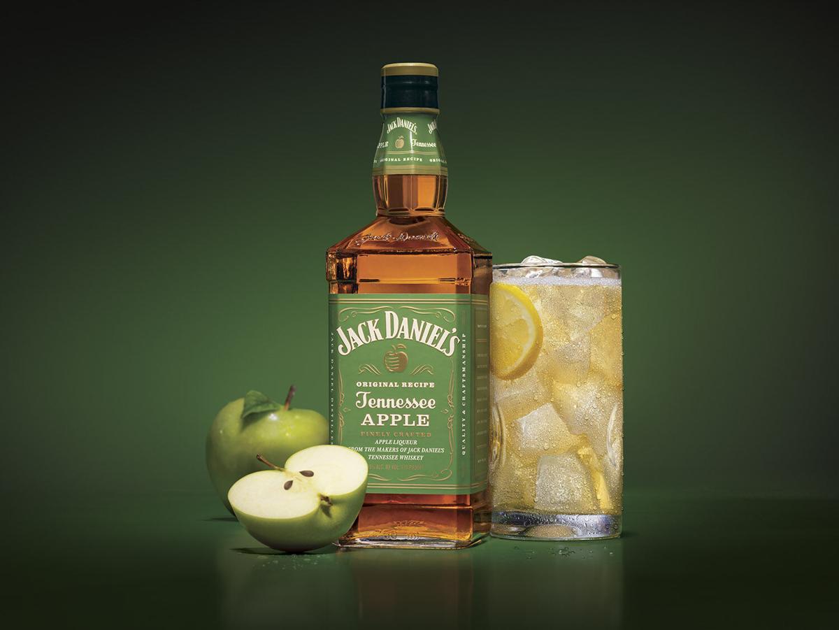 Jack Daniel's Apple Fizz