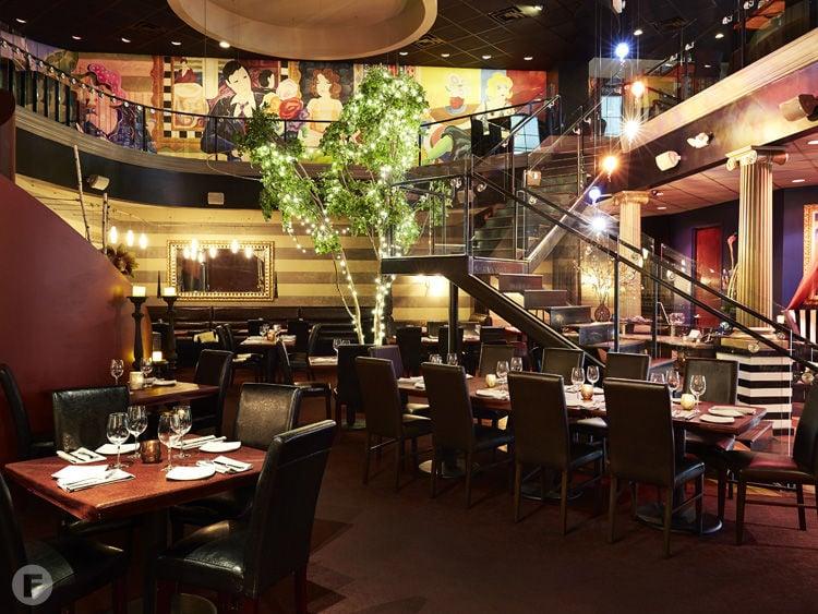 Touch Restaurant & Oyster Bar Interior