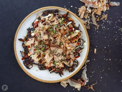 Sweet Potato Okinomiyaki