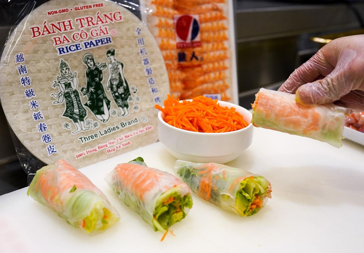 United Provisions meal kits spring rolls