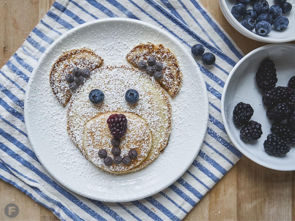 Cooking with Kids: Pancake Animals 1