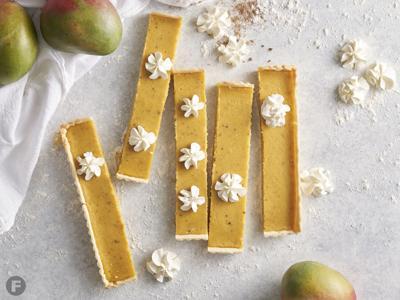 Sweet & Sour Mango Tart