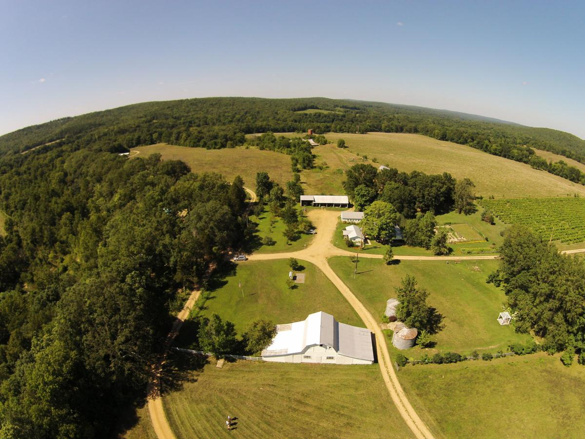 Edg-Clif Farms & Vineyard 2015 Aerial View