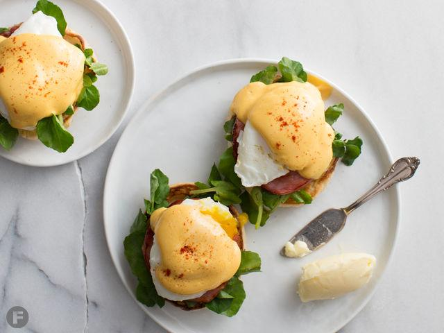 Eggs Benedict With Smoky Hollandaise Cook Feast Magazine