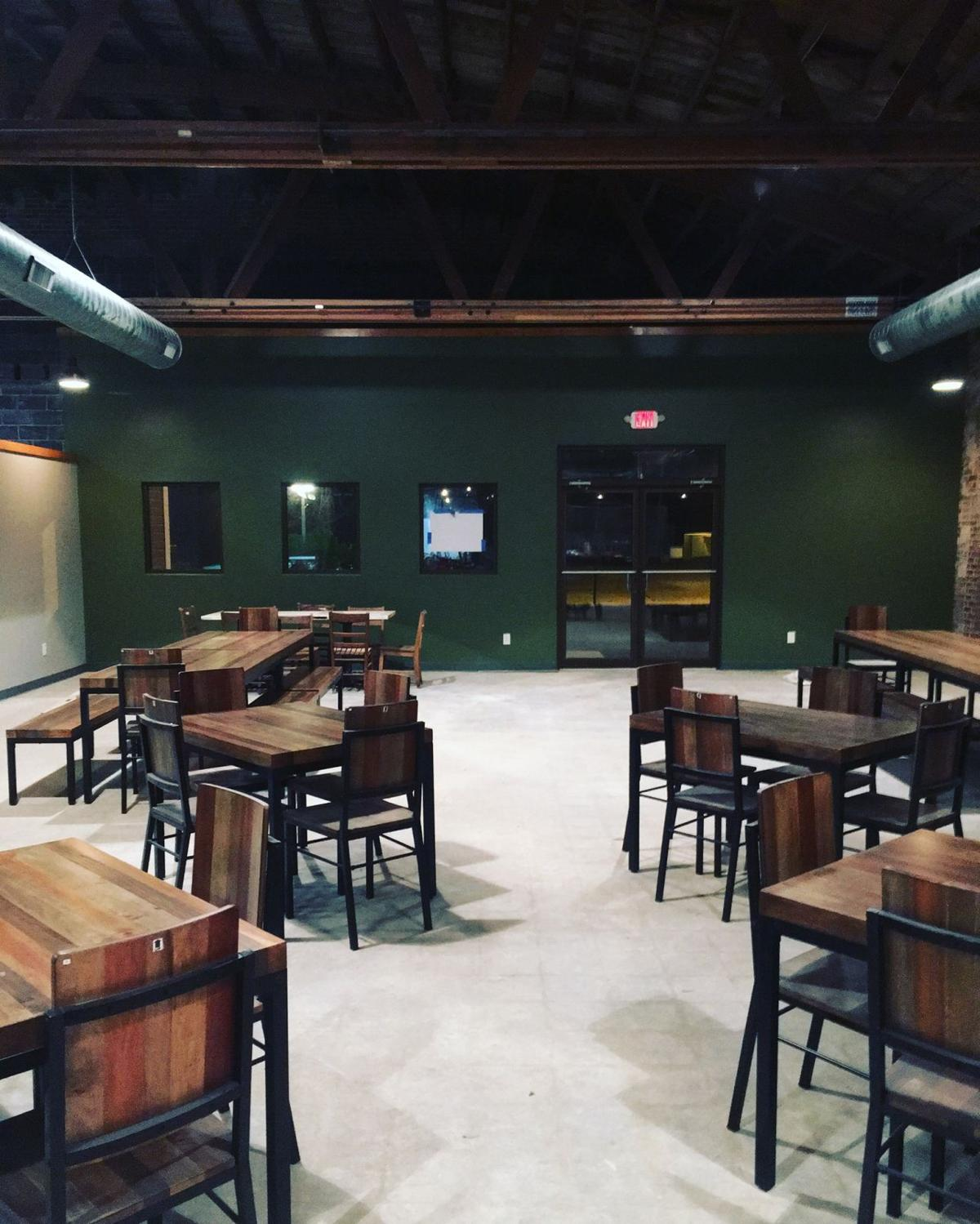 White Rooster Farmhouse Brewery Interior