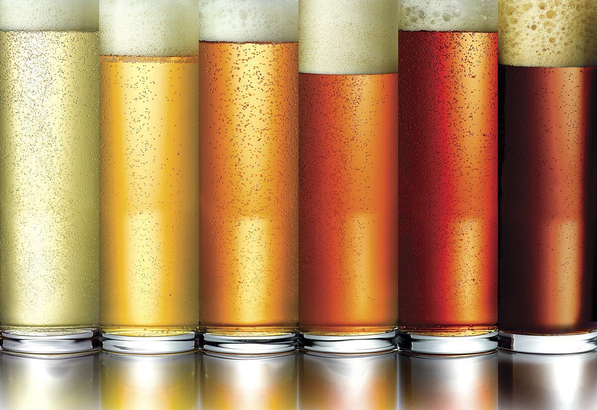 Beer photo illustration Pride Vibes