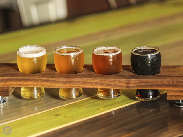 Wages Brewing Co. Flight