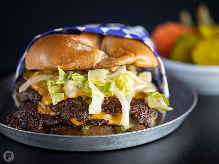 The Drawing Board Smash Burger