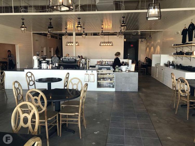 Pilgrim Coffee Co. Interior