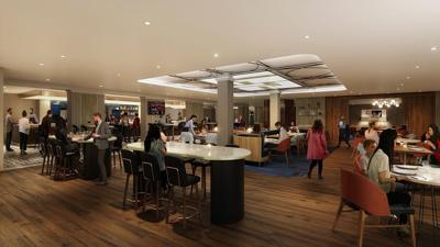 Cafe la Vie rendering