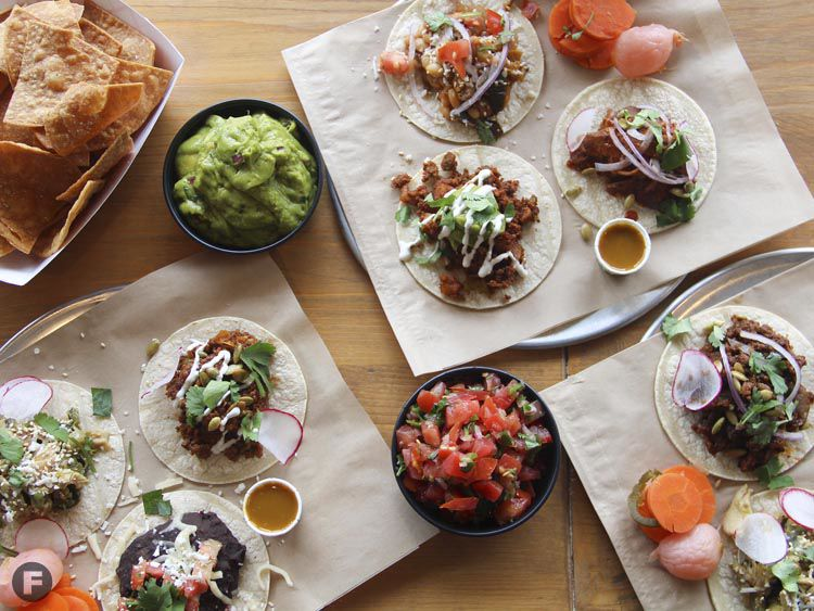 Taco Zone Dishes