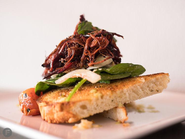 Charred Crust Panzanella