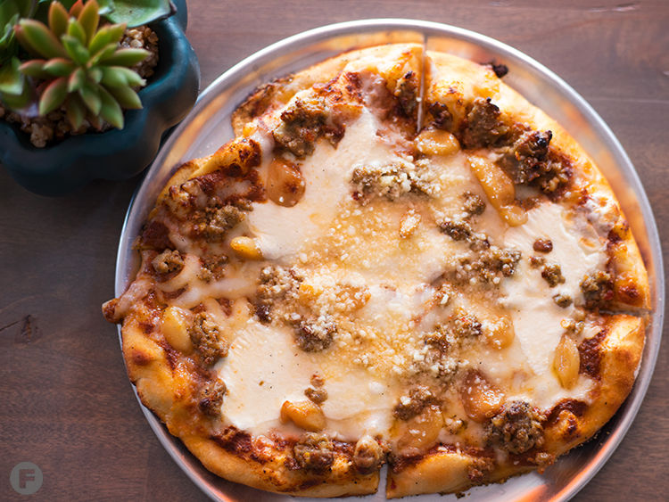 Charred Crust Pizza