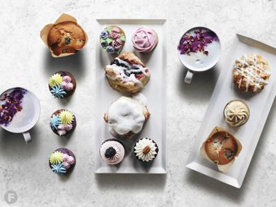 The Littlest Bake Shop pastries and lattes