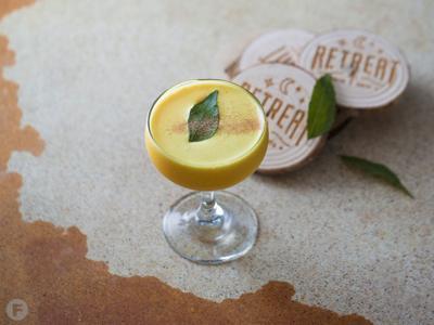 Retreat Gastropub Turmeric Cocktail
