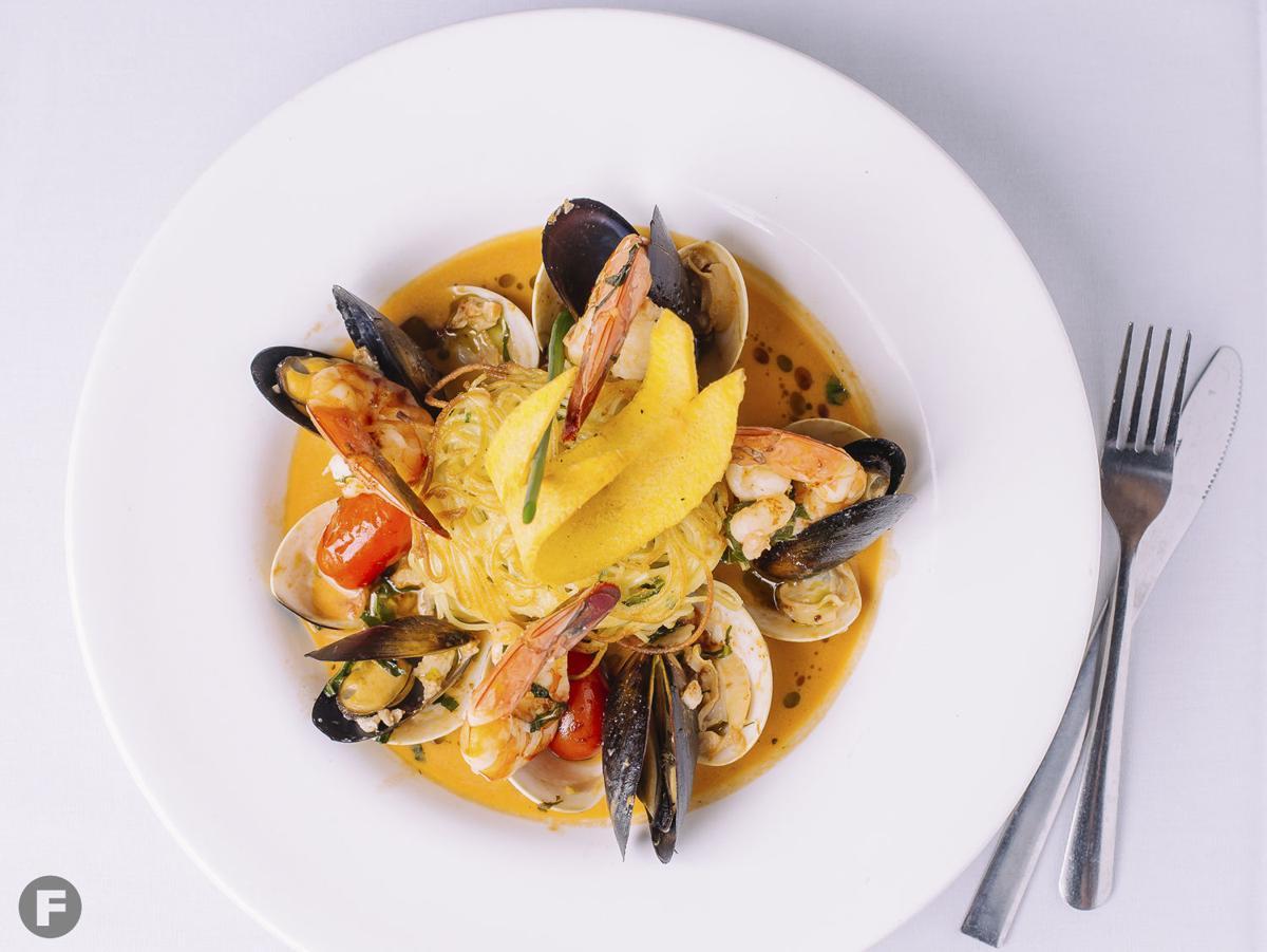 Mesob Restaurant Dish