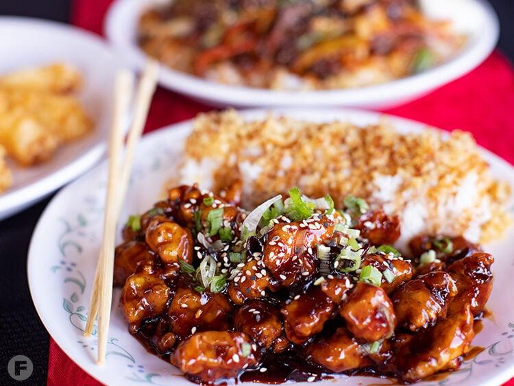Fire Chicken Dishes