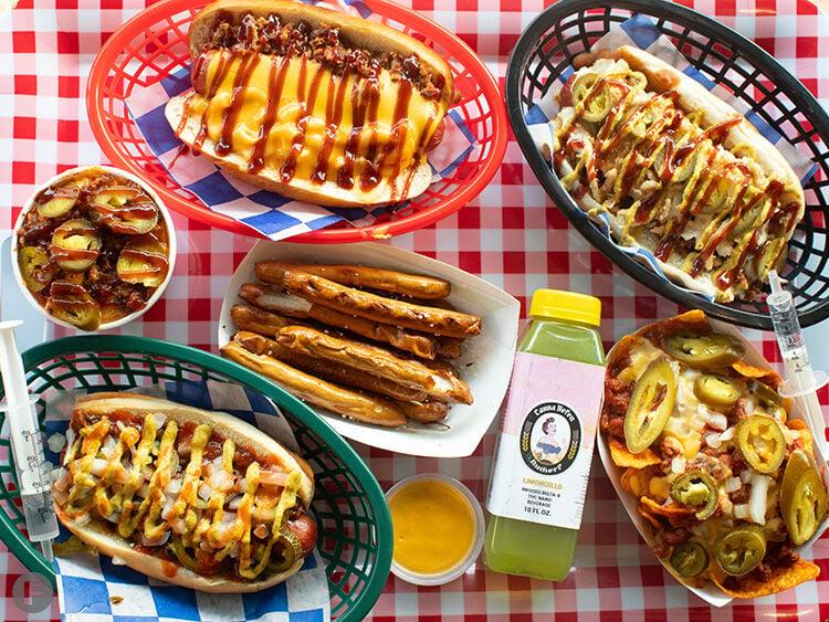 T-N-T Wieners dishes