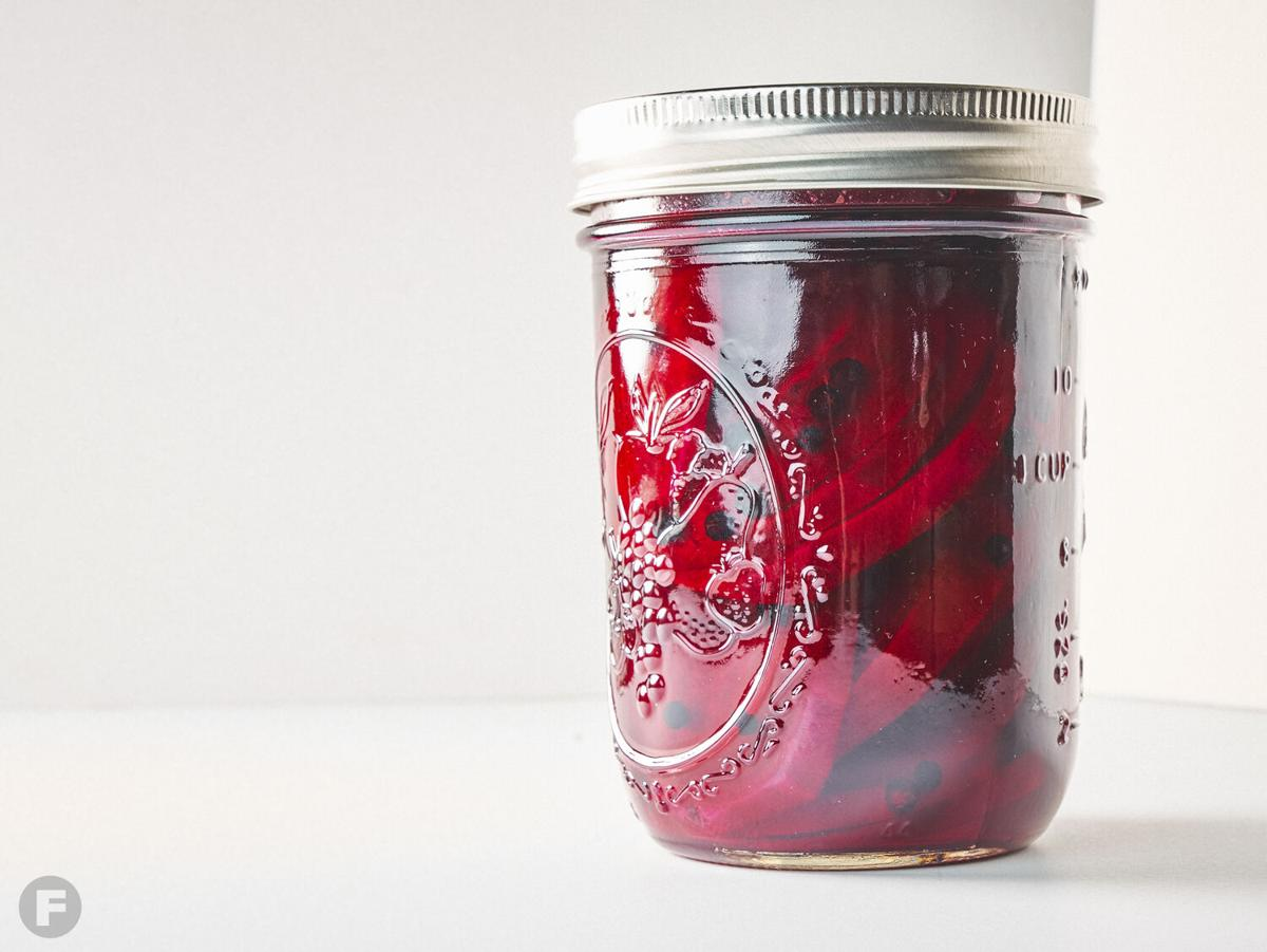 Sherry-Sweetened Pickled Beets