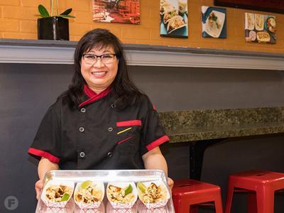 Kalbi Taco Shack Sue Wong-Shackelford