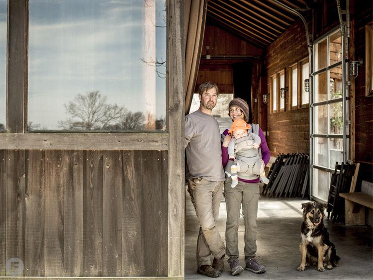 Claverach Farm Sam Hilmer and Rachel Shulman