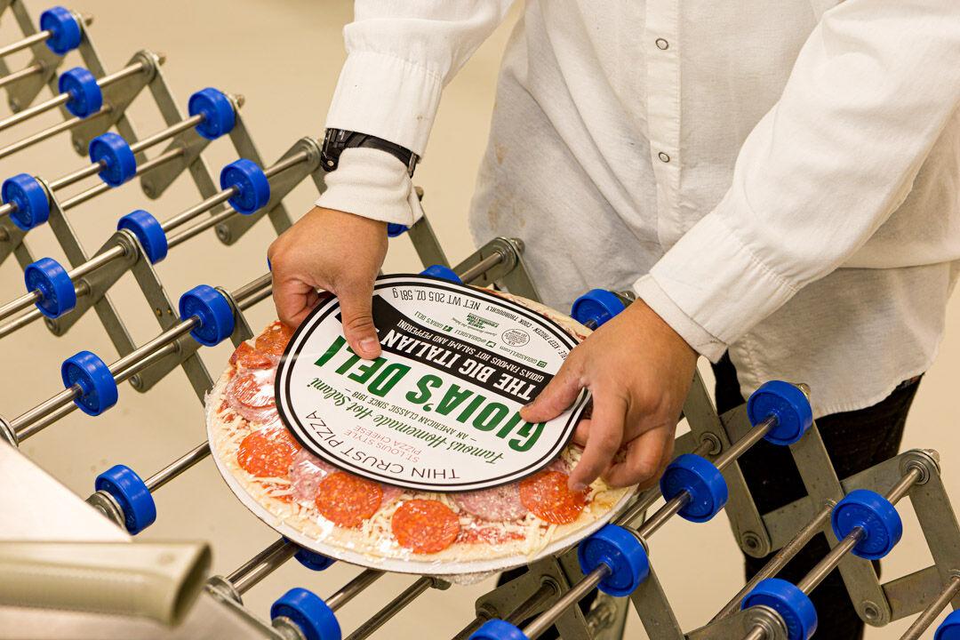 Gioia's frozen pizza