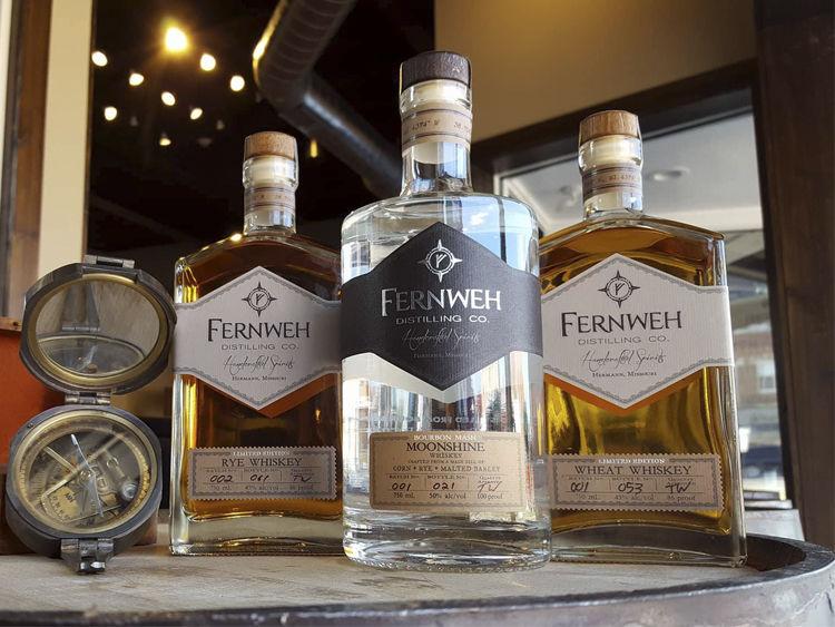 Fernweh Distilling Co. Spirits
