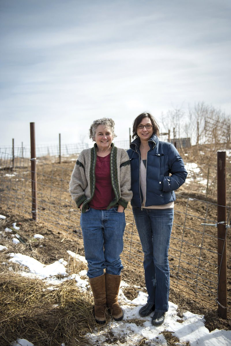 Green Dirt: Sarah Hoffmann and Jacqueline Smith