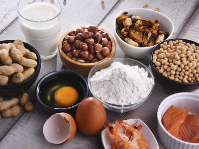 Allergen-free dinner photo