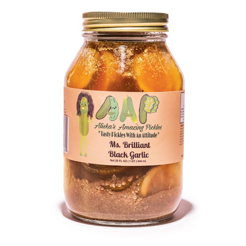 Ms. Brilliant Black Garlic
