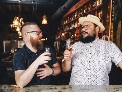 The Whisk(e)y Fix Joe Montanez and Ryan Westeren