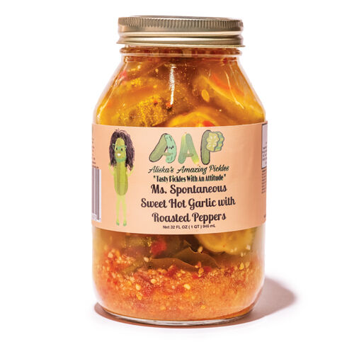 Ms. Spontaneous Sweet-Hot Garlic with Roasted Peppers