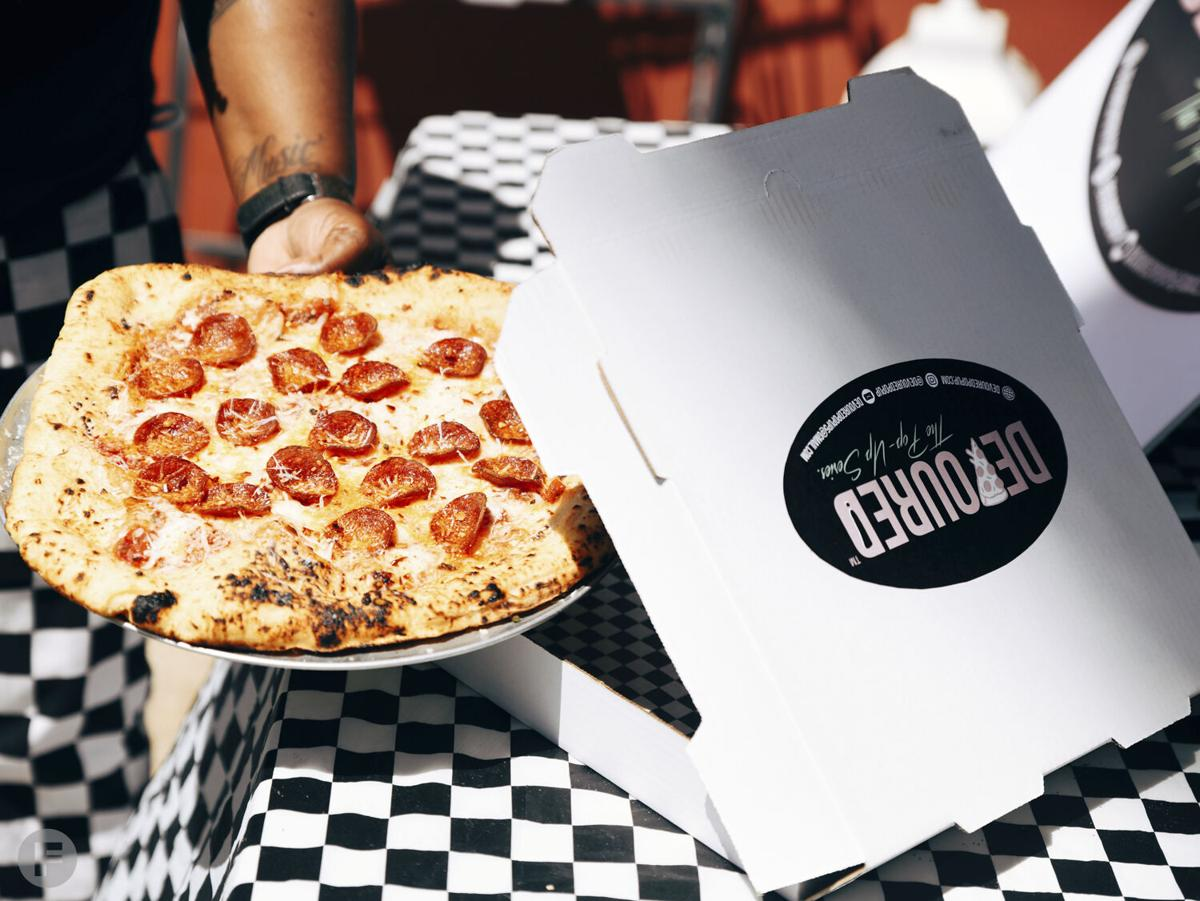 Devoured Pizza To-Go Box