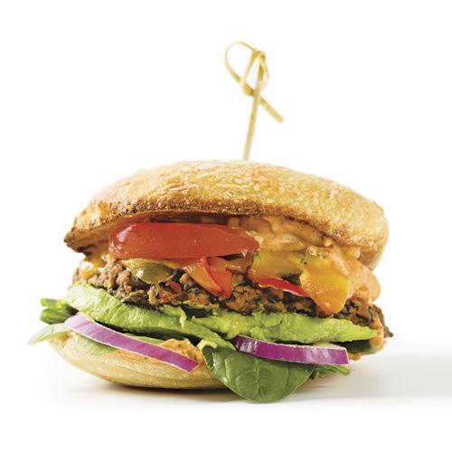 Frida's Black Bean Burger