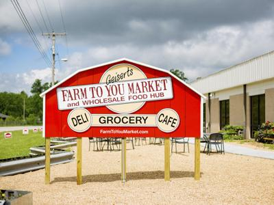 Farm to You Market Exterior