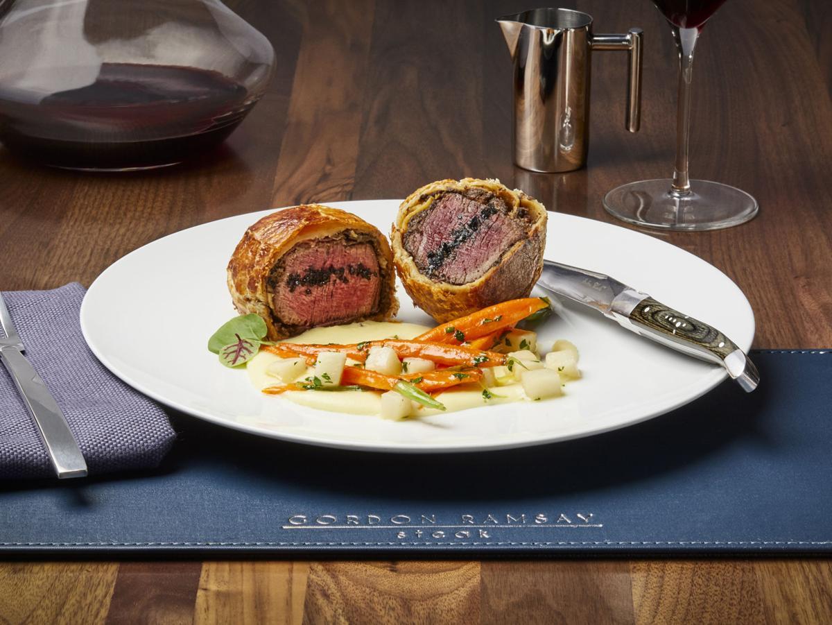 Gordon Ramsay Steak Beef Wellington
