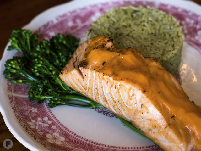 Vintage Restaurant Salmon