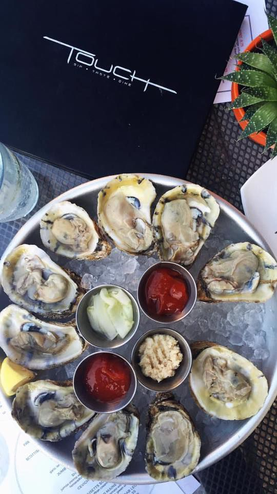 Touch Restaurant & Oyster Bar Oysters