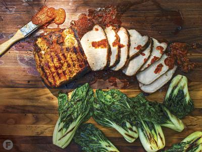 Gochujang-Marinated Pork Loin
