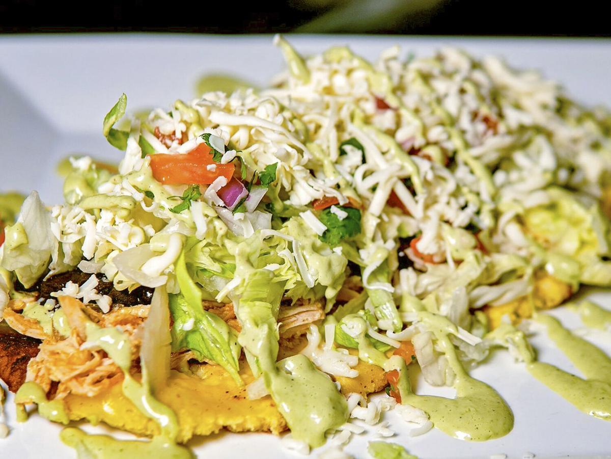 Mundos Latin Kitchen & Bar Patacón