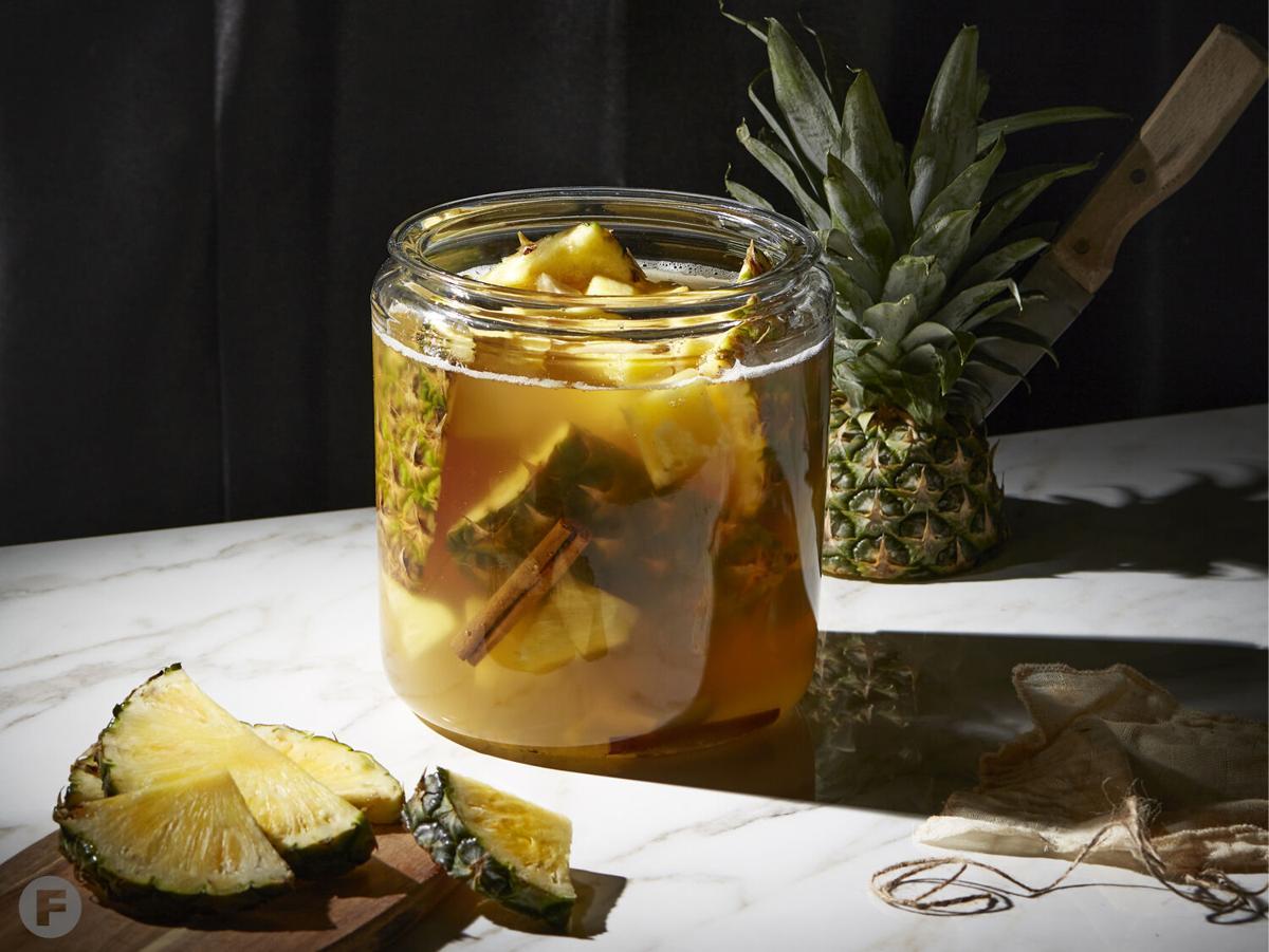 Tepache in jar