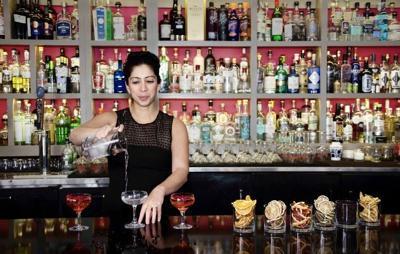 Natasha Bahrami behind bar