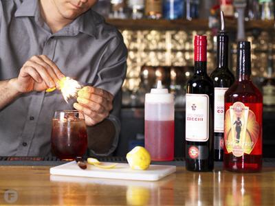 Shim Cocktails at Flyover