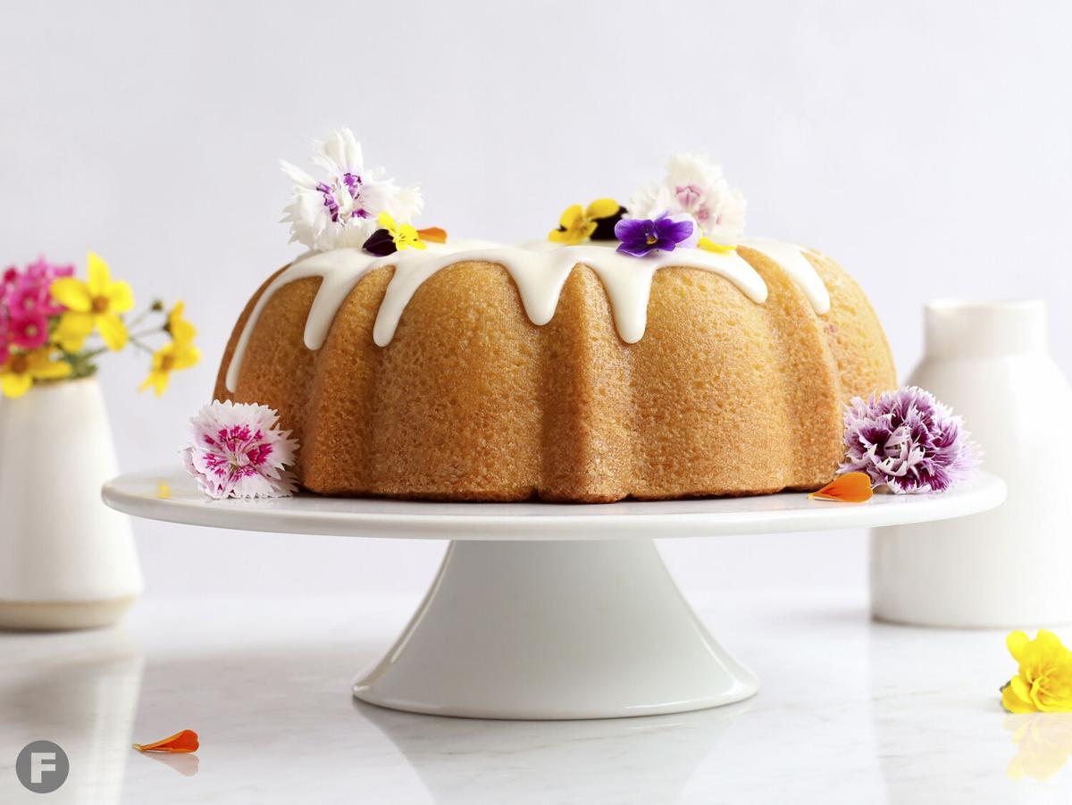 Lavender Buttermilk Bundt Cake